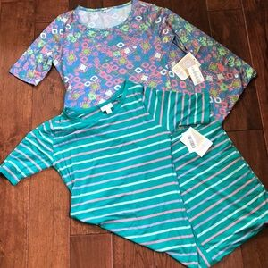 1 HR SALE 🆕 🏖2 LuLaRoe Julia Dresses 👗